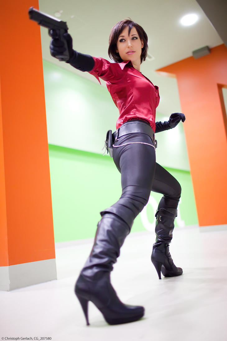 Ada Wong action - Resident Evil 6 by AdaCroft