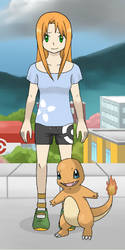 Daniella the new Pokemon Trainer! by lionponyharvestking
