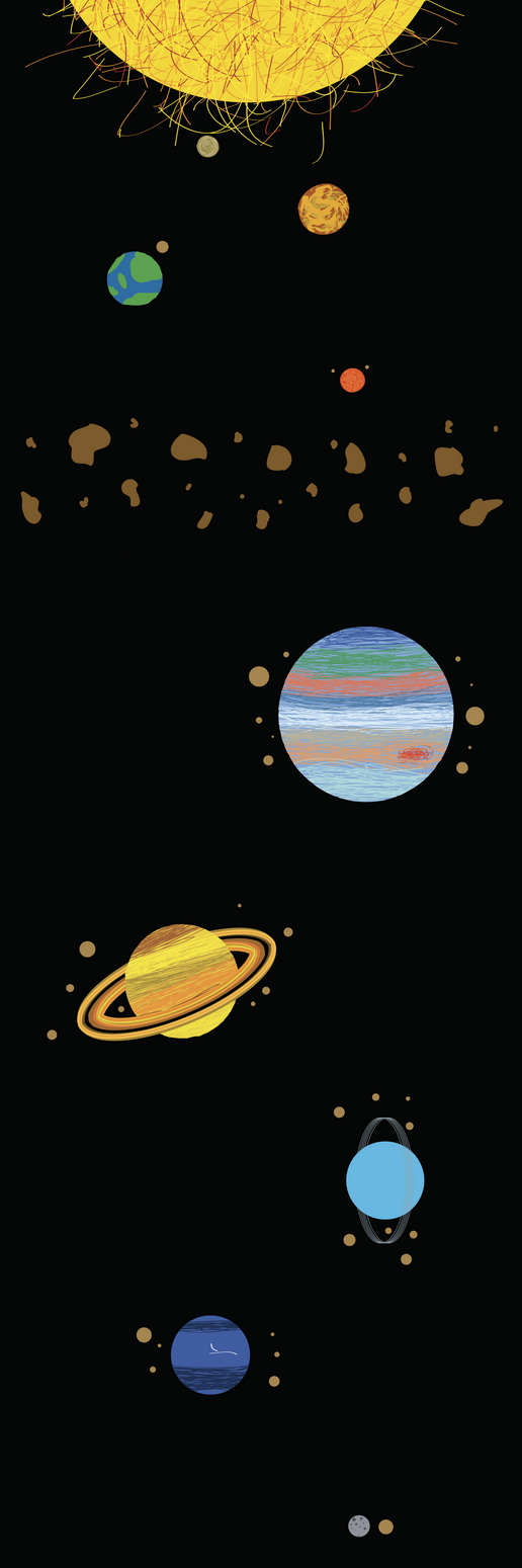 Solar System by stellated on deviantART