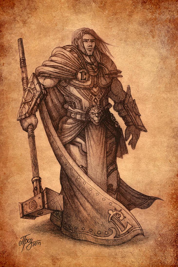 Prince Arthas by TamplierPainter on DeviantArt