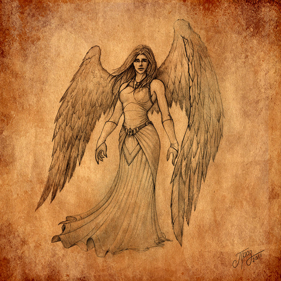 Angel by TamplierPainter