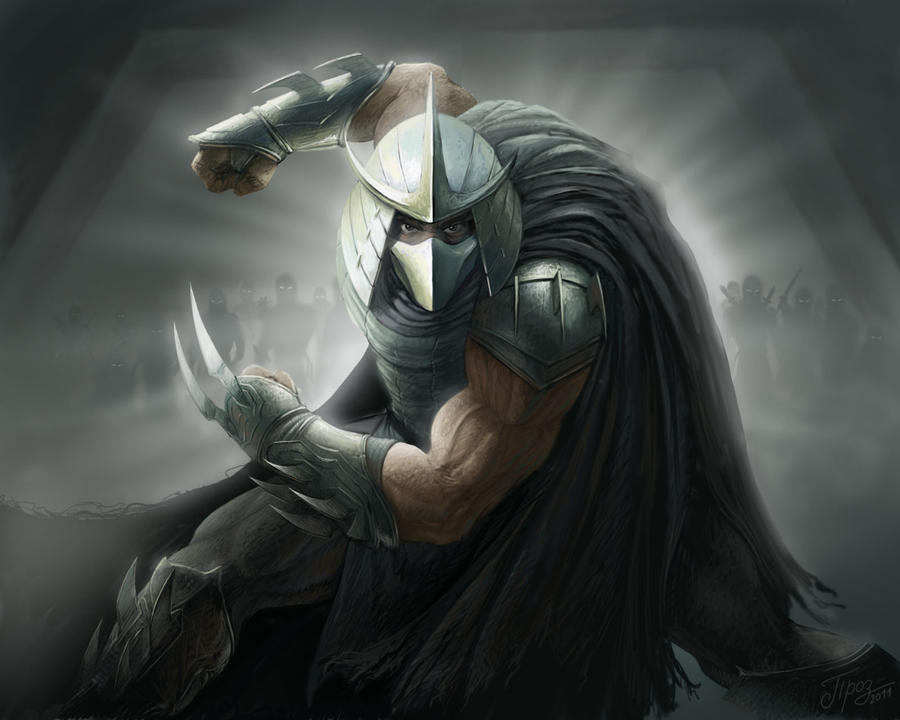 The Shredder by TamplierPainter