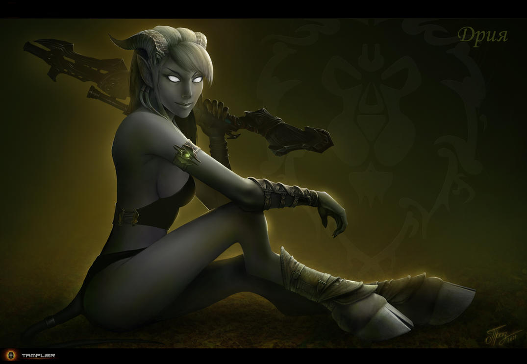 Draenei - Hunter by TamplierPainter