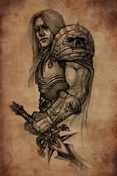 Arthas - Death Knight by TamplierPainter