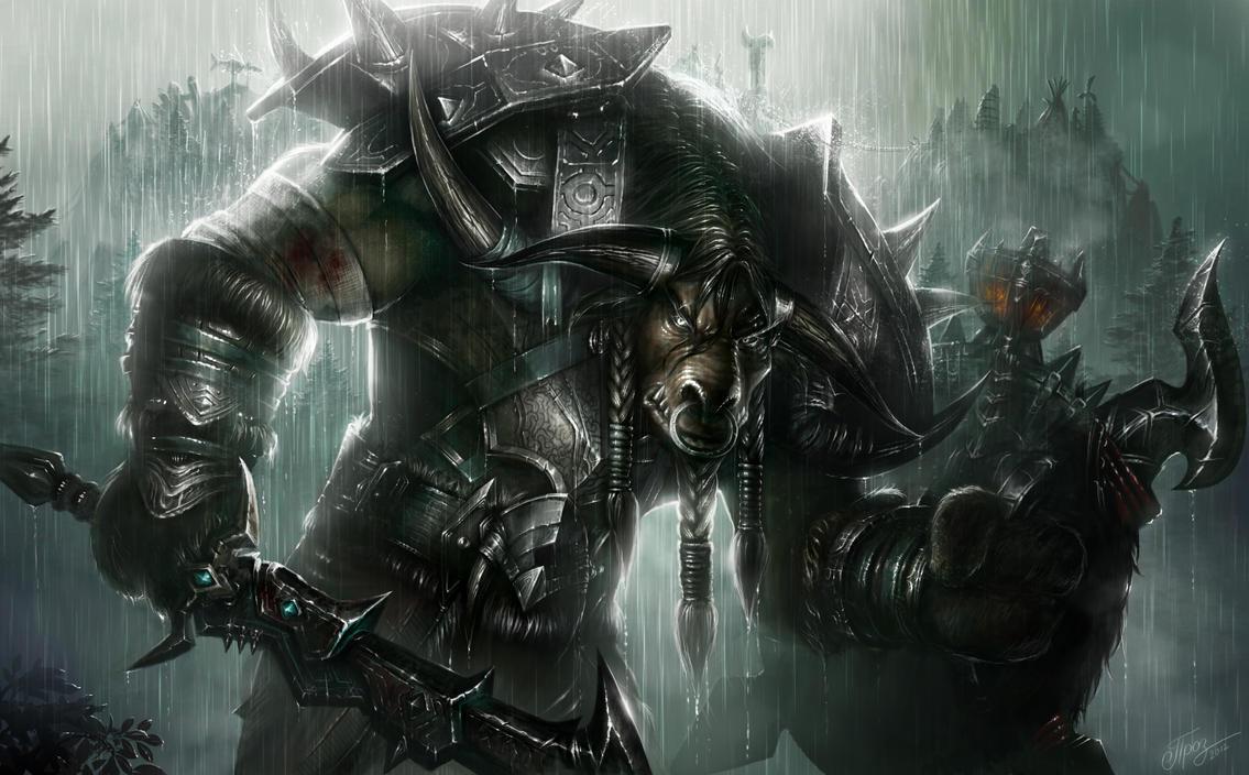 tauren_warrior_by_tamplierpainter-d4ykiw