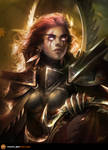 Maiev ShadowSong by TamplierPainter