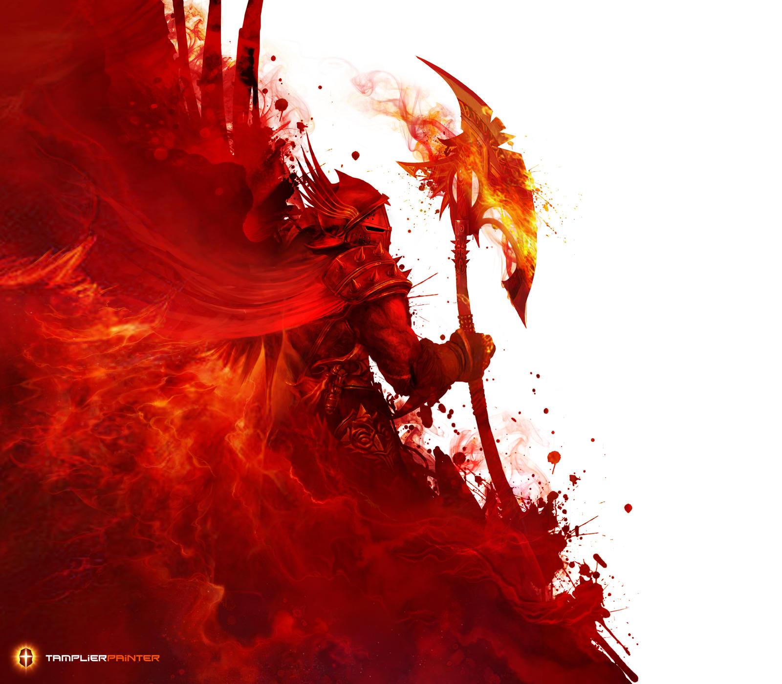 Burning spirit by TamplierPainter
