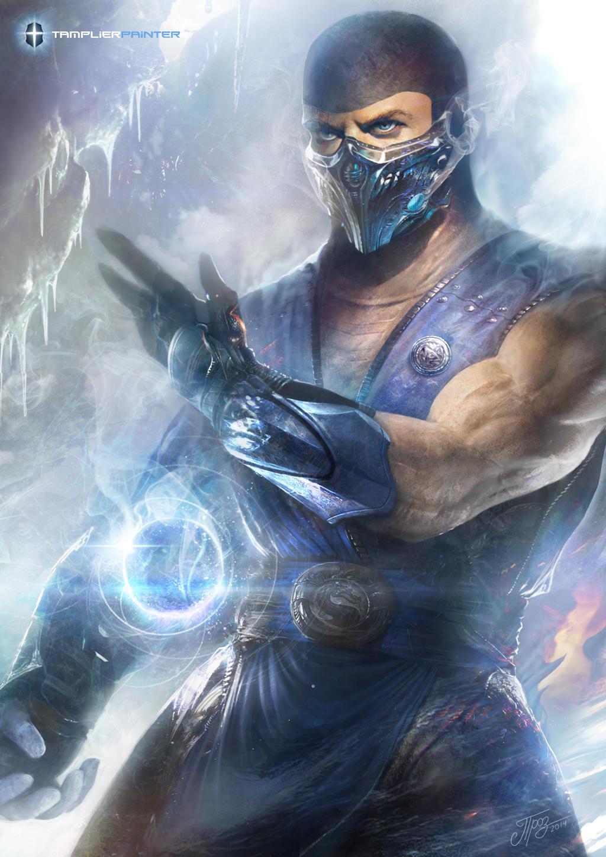Mortal Kombat X Sub Zero Deviantart Sub-Zero by TamplierPa...