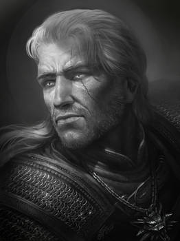 Fast Drawing: Geralt of Rivia