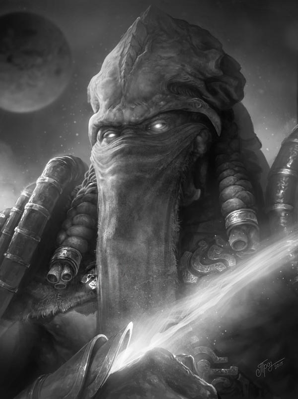 Fast Drawing: Zeratul by TamplierPainter