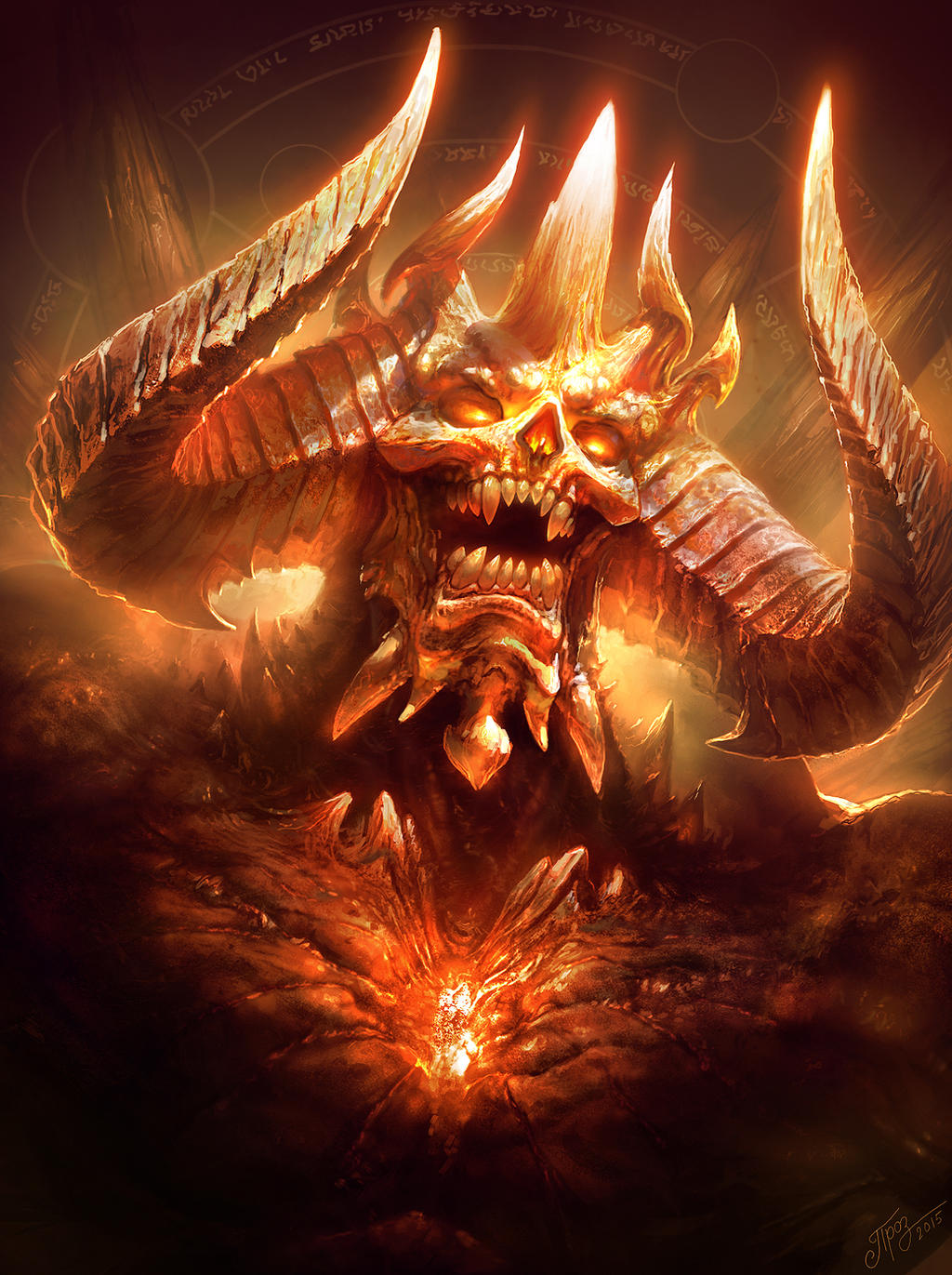 Diablo (Colored version)