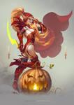 Valeera Sanguinar (Halloween Version) by TamplierPainter