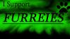I Support Furries Stamp by WolfSpiritHawk