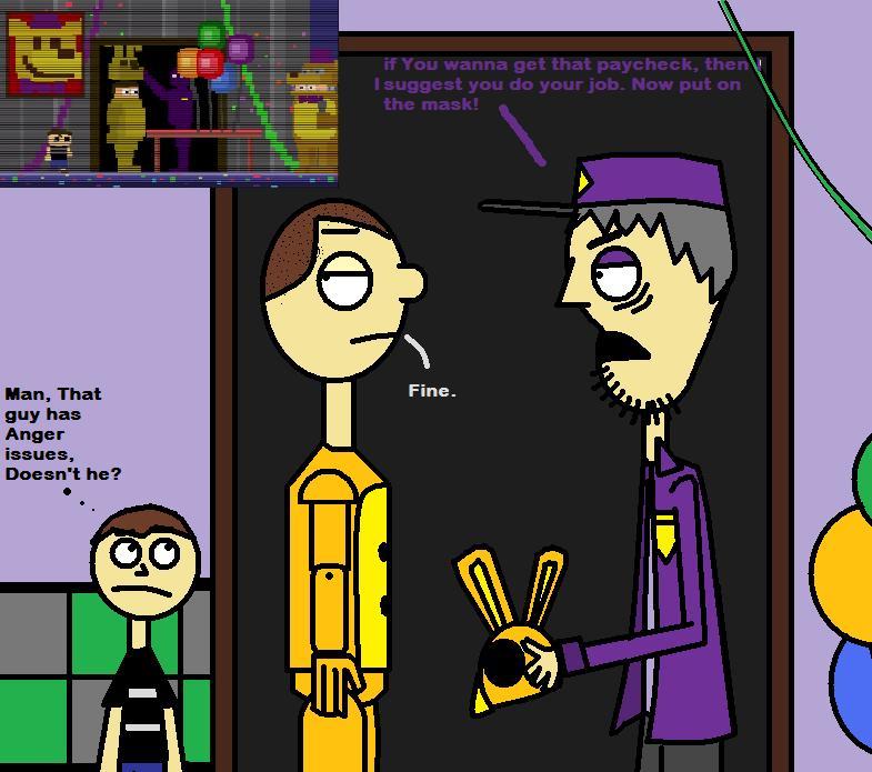 Purple guy easter egg by sebastiansmind on deviantart