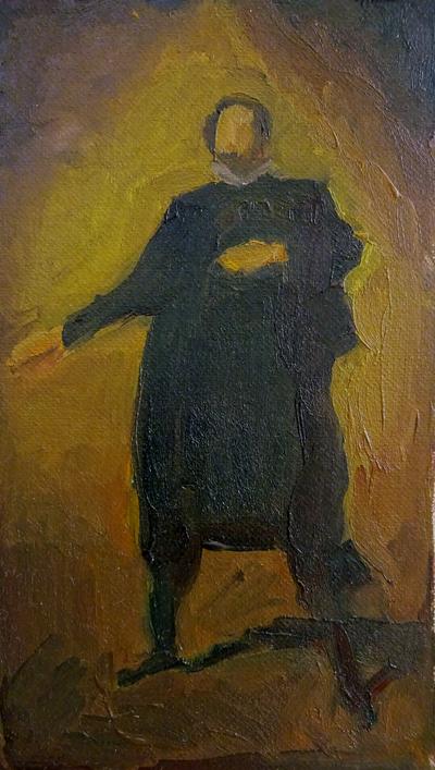 Study after Velzquez's Portrait by sergey-ptica