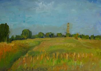 Summer landcape by sergey-ptica