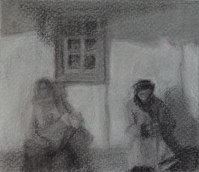 Study after Yablonskaya's Life Goes On by sergey-ptica
