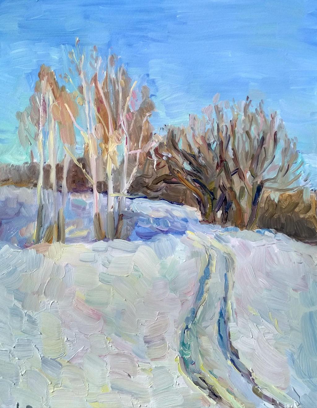 Winter trail by sergey-ptica