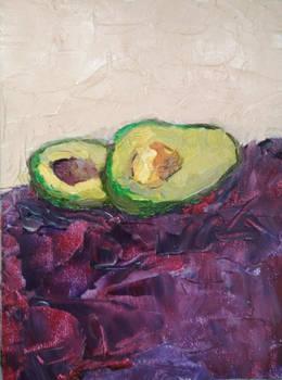 Fresh avocado etude