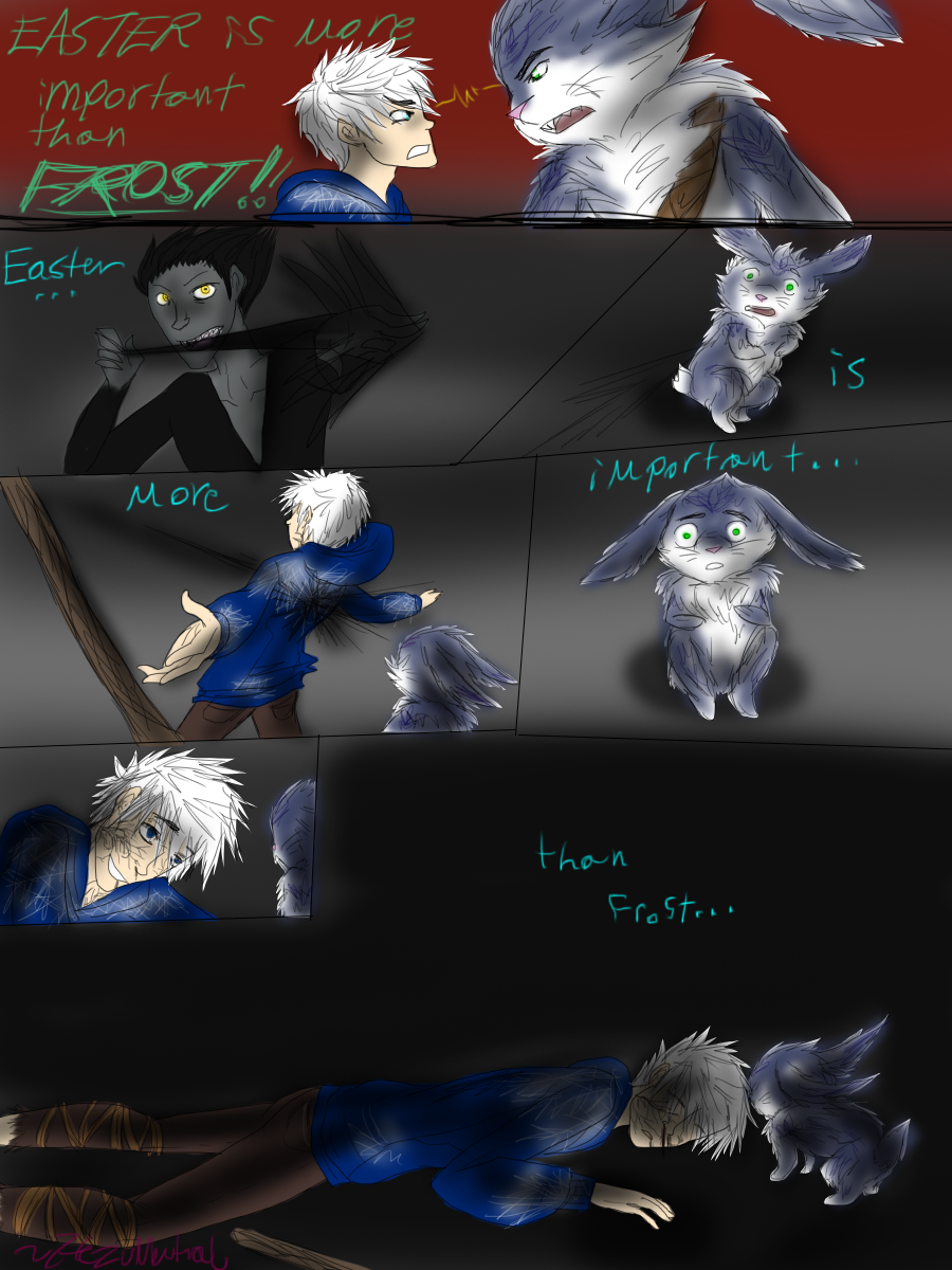 Night light x jack frost - Easter Is More Important Then Frost By Hezuneutral