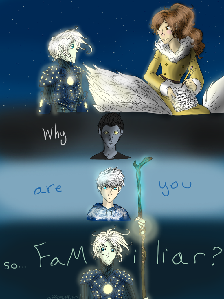 Night light x jack frost - The Light Of The Night Covered In Frost By Hezuneutral