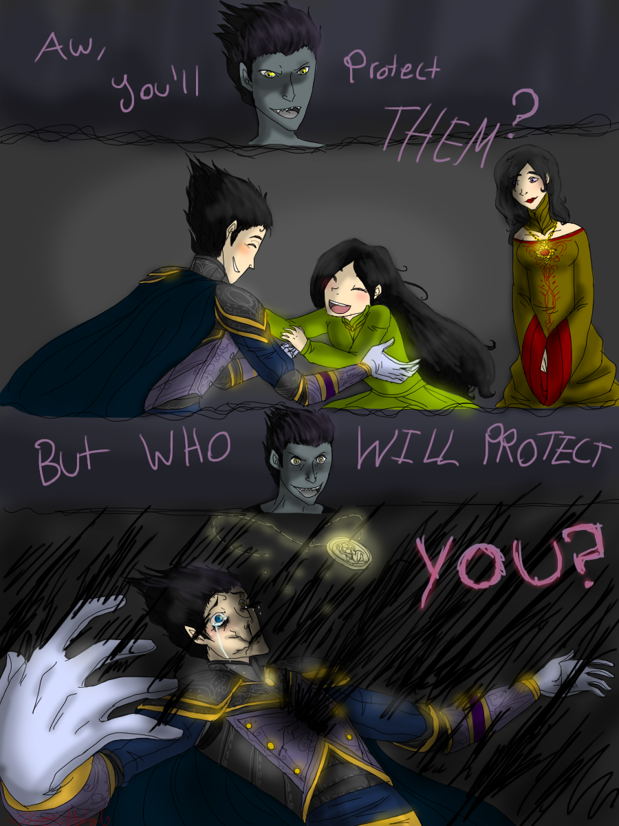Night light x jack frost - Who Will Protect You By Hezuneutral The Origins Of Nightlight By Hezuneutral