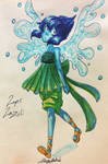 Lapis outfit inktober