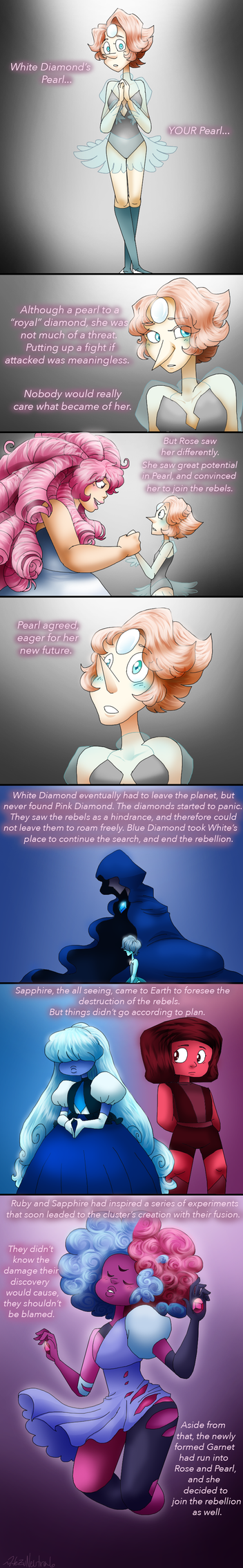 Pink Diamond's tale p3 by HezuNeutral