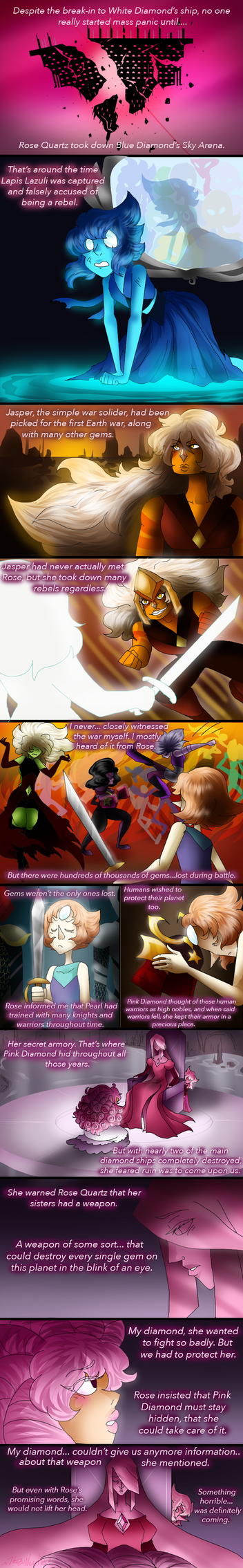 Pink Diamond's Tale p4 by HezuNeutral