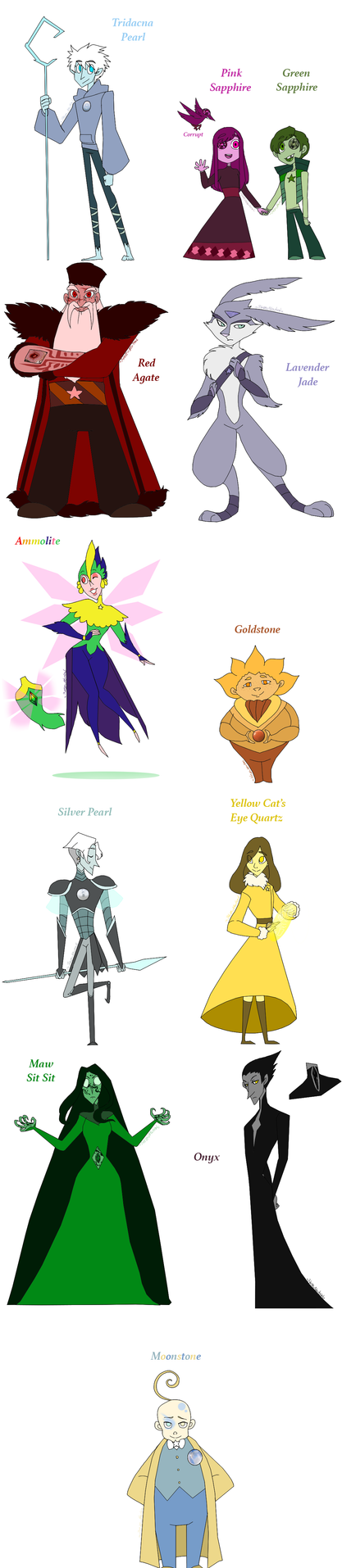 Guardian GEMS by HezuNeutral