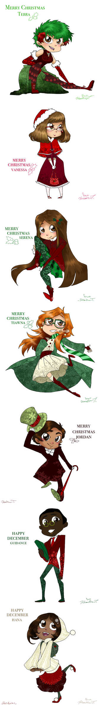 Christmas To Friends by HezuNeutral