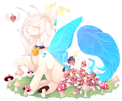 Scented ponies fairy event