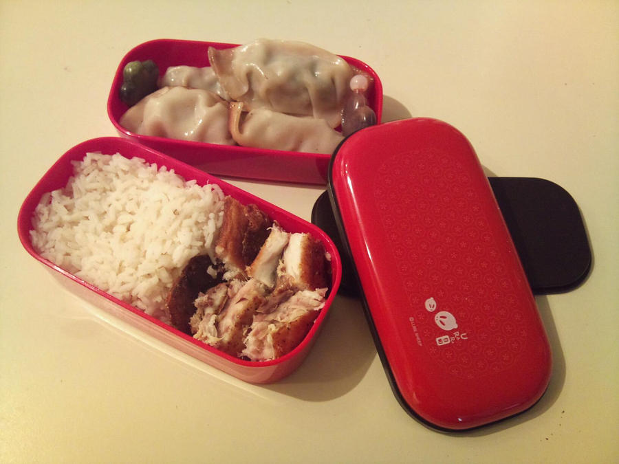 Bento: 4 - Darling Dumplings by XoBrittuhoX
