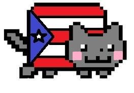 Puerto Rican Nyan Cat by akurokuxsokai