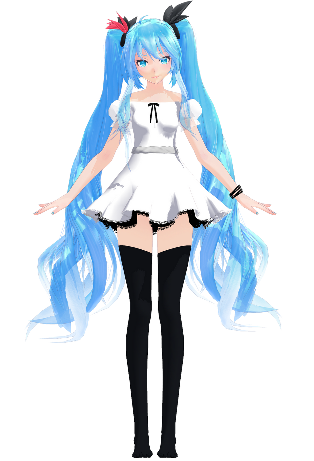 Anime Characters Full Body : Tda world is mine full body by yuuu chan on deviantart