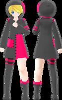 . : Muuubu Scissors Rin Full Body : . by Yuuu-chan