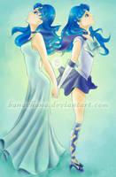 Princess and Sailor Siren by banachana
