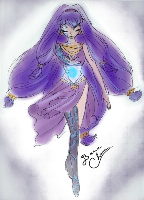 Magicgirl Sketch by banachana