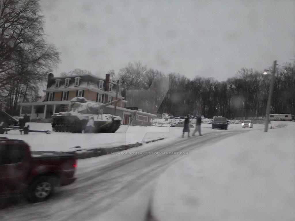 winter cold war by allaround215artist