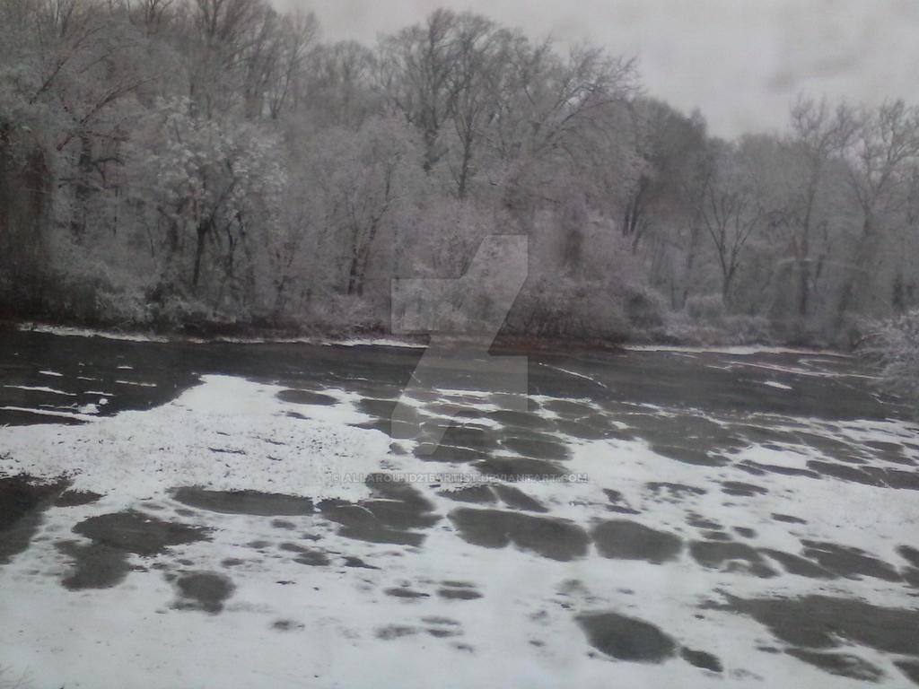 snowy scene by allaround215artist