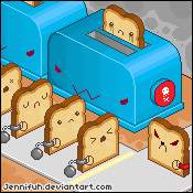 The Toast Holocaust by jennifuh