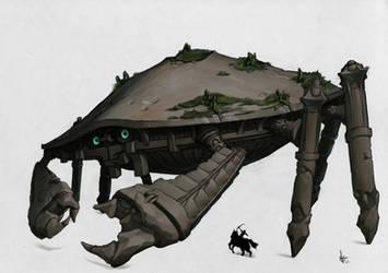 Colossus: Crab by sunnykoda