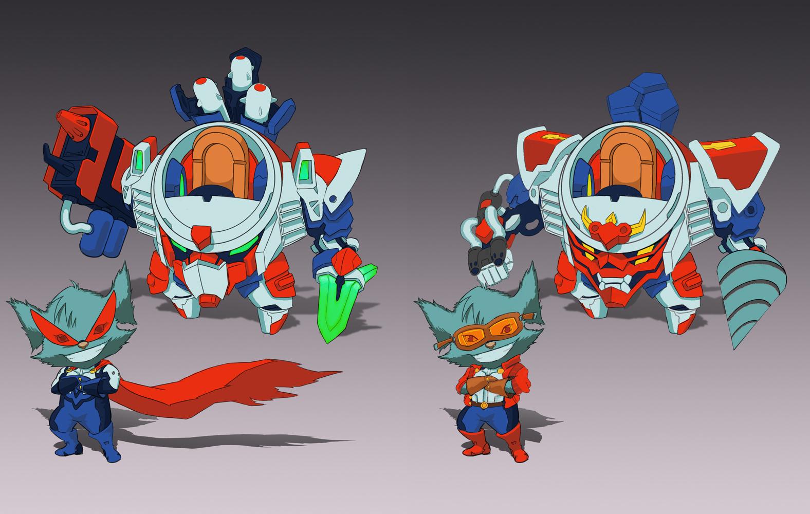 Mecha Rumble Go! by sunnykoda