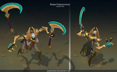 Shurima Fiddlesticks 08 by sunnykoda