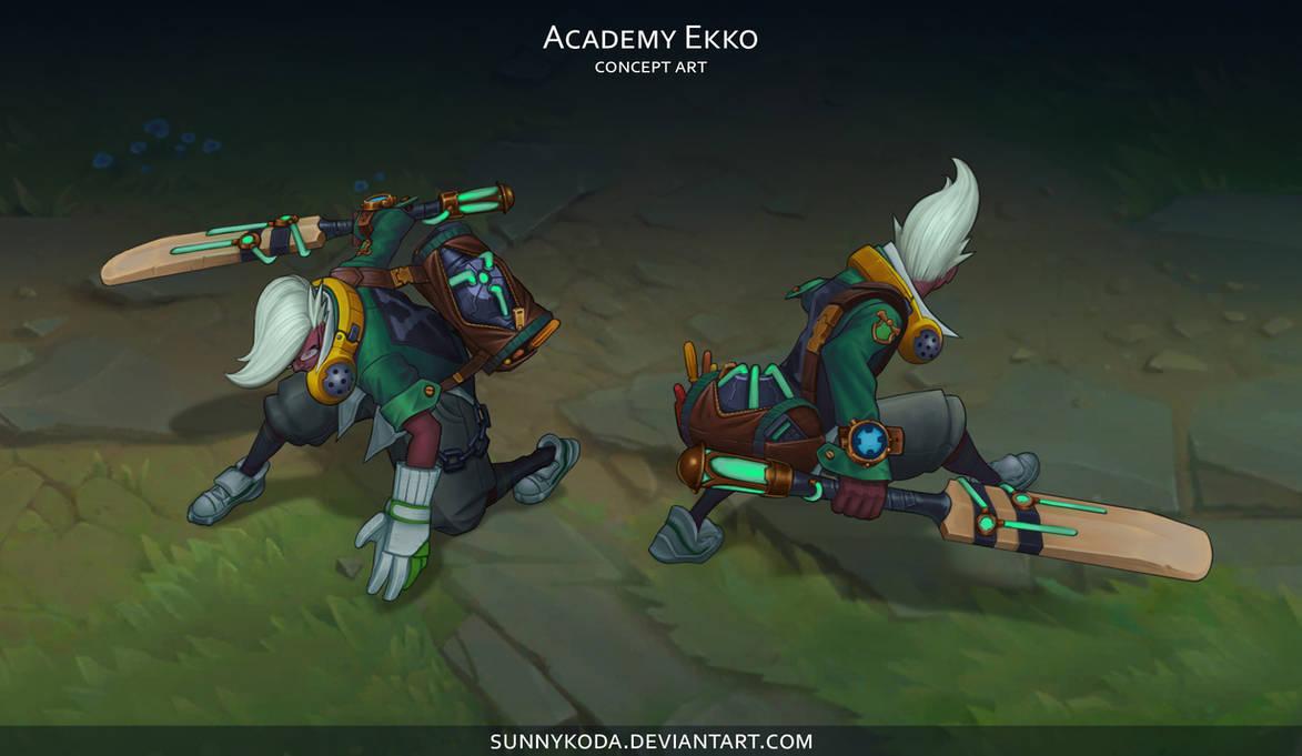 Academy Ekko by sunnykoda