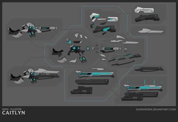 PF Caitlyn - Weapon Schematic by sunnykoda