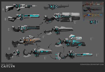 PF Caitlyn - Weapon Concept by sunnykoda