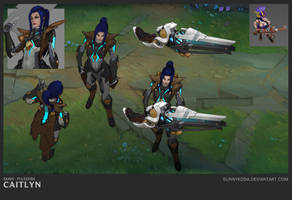 PF Caitlyn - In Game