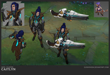 PF Caitlyn - In Game by sunnykoda