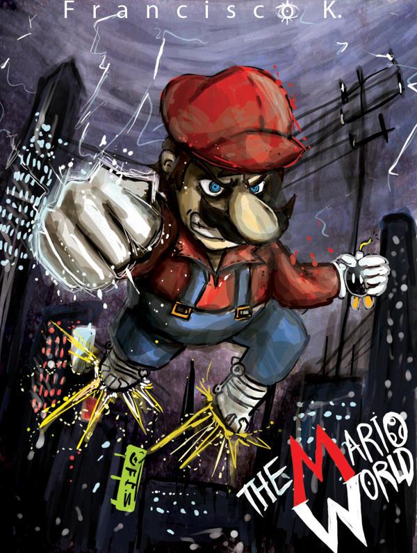 Webcomic- THE MARIO WORLD by Francisco-K